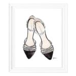パールサンダル(Chanel Pearl Shoes)